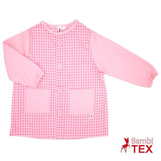 Bata escolar rosa