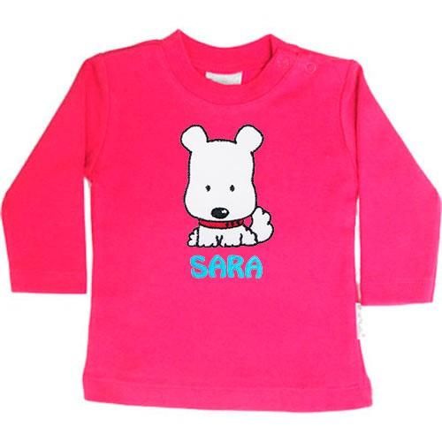 Camiseta de niña personalizada