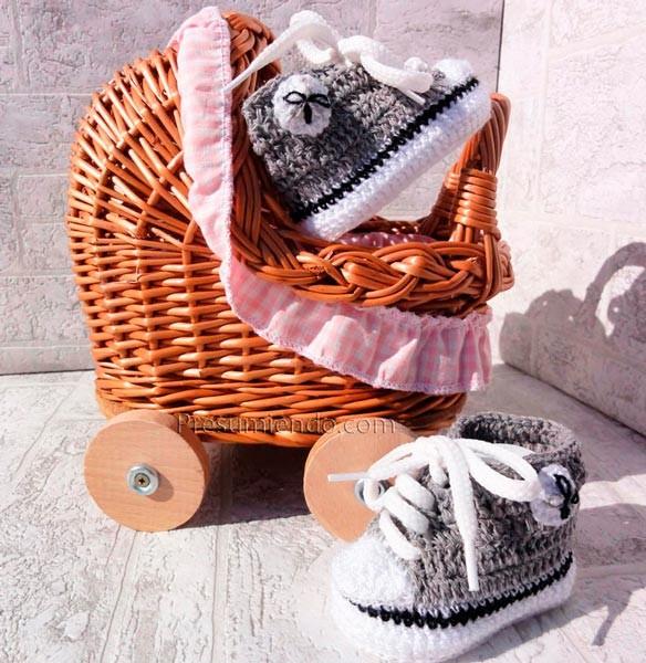 Deportivas de crochet