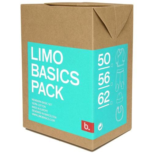 Pack Limobasics turquesa personalizado
