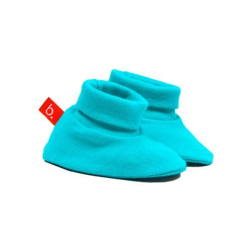 Patucos para bebé turquesa