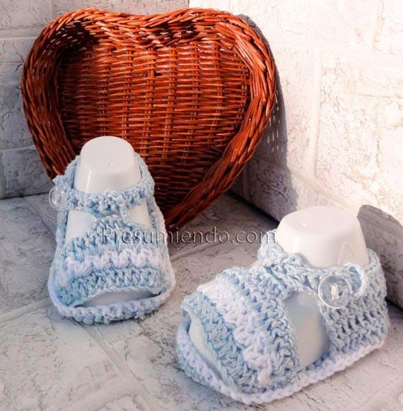 Sandalias de recién nacido