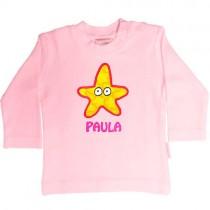 Camiseta para bebés personalizada