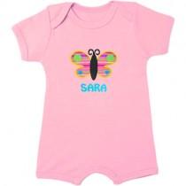 Mono de verano para bebé personalizado