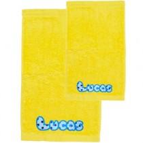 Pack toallas personalizadas amarillo