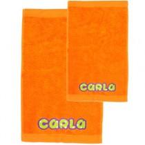 Pack toallas personalizadas naranja