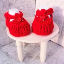 Sandalias bebé rojo