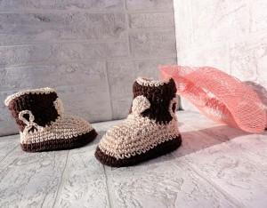 Botas de crochet