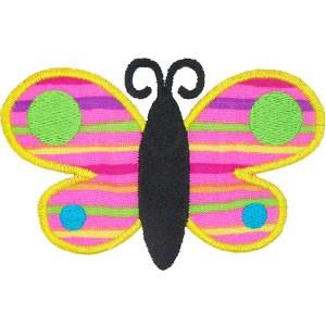 Diseño bordado Mariposa