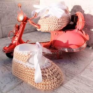Zapatos de crochet