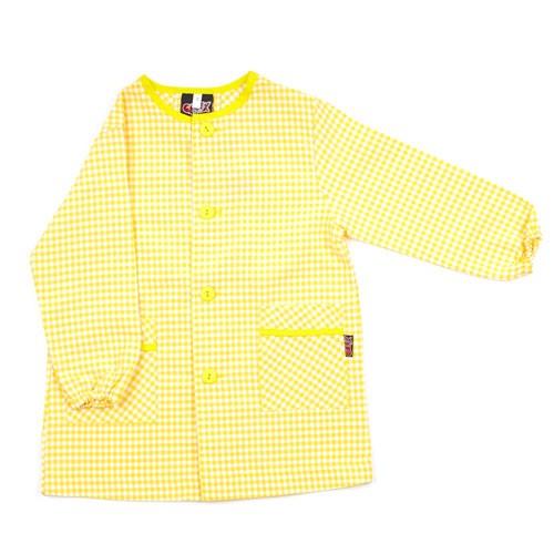 Bata colegio amarilla