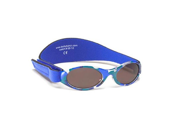 Gafas de sol bebé camuflaje azul