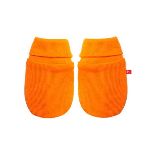 Manoplas bebé naranja