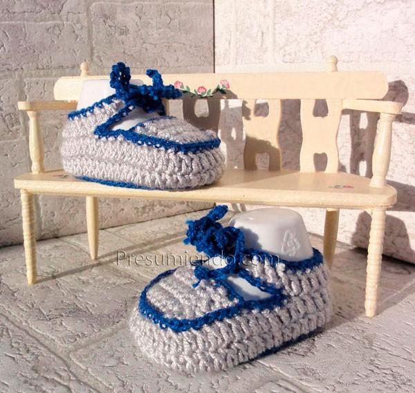 Mocasines de crochet