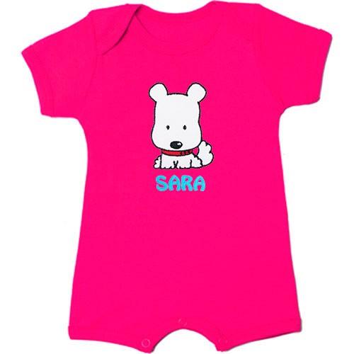 Mono de bebé personalizado