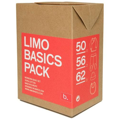Pack Limobasics rojo personalizado