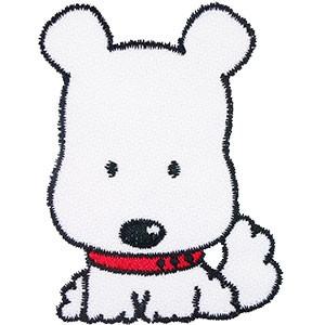 Diseño bordado Perrito