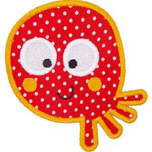 Diseño bordado Pulpo