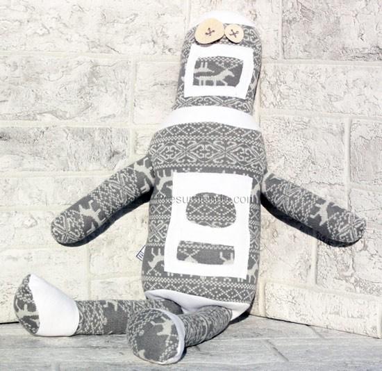 Sopa de Príncipe Robot Gris