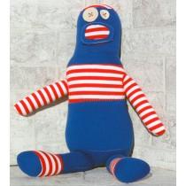 Sopa de Príncipe Robot azul