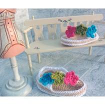 Sandalias de crochet para bebé