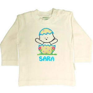 Camiseta para bebé personalizada