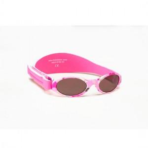 Gafas de sol bebé camuflaje rosa
