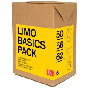 Pack Limobasics amarillo personalizado
