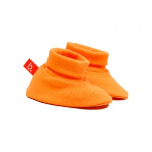 Patucos de bebé naranja